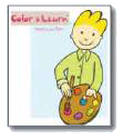 Eric's Day Color & Learn Book